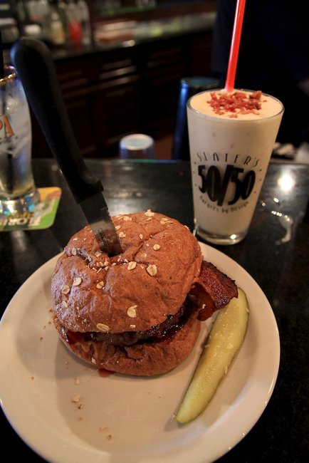 Slaters 50/50: Most Eclectic Hamburgers You Will Ever Eat