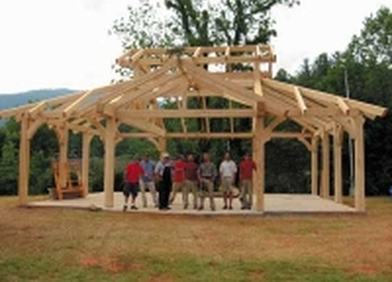 One day, a few good men, a great pavilion!