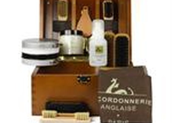 Groom Shoe Care Kit  by La Cordonnerie Anglaise