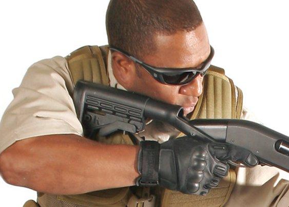 SpecOps Adjustable Shotgun Stock - BLACKHAWK!