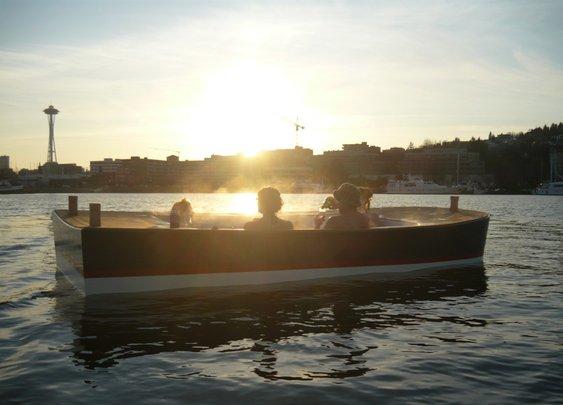 Hot Tub Boats
