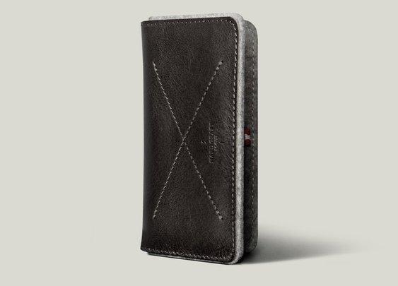 hard graft / Phone Fold Wallet / All Grey