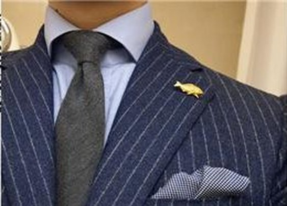 Black Chalk Stripe Suit – Suits of 2012