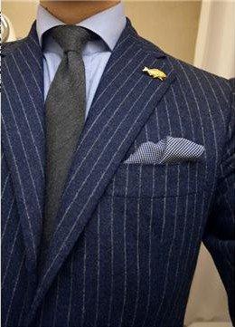 Black Chalk Stripe Suit – Suits of 2012