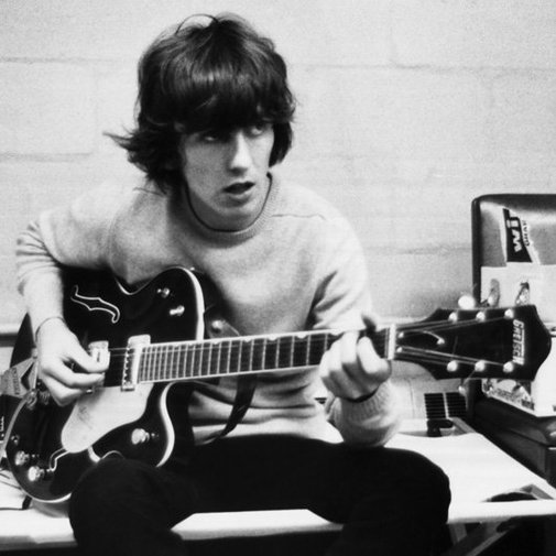 """George and his """"64 Gretsch"""