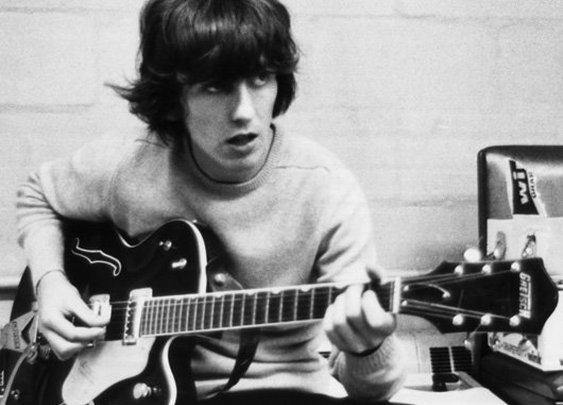 "George and his ""64 Gretsch"
