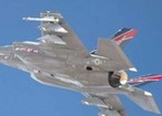 F-35 makes first test flights with external weapons