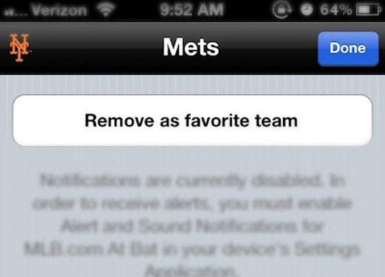 Believe me, MLB At Bat app, I've tried
