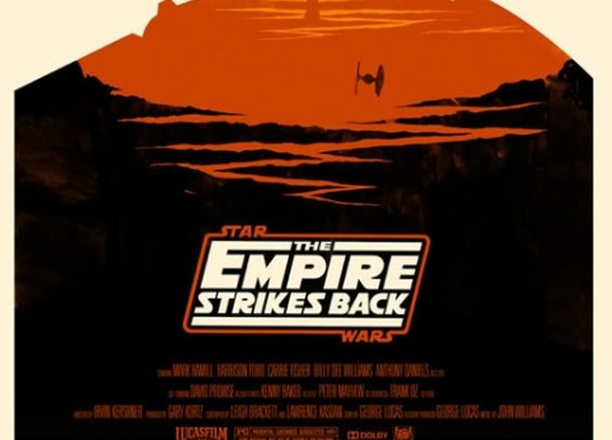 Mondo: The Archive    Olly Moss - The Empire Strikes Back, 2010