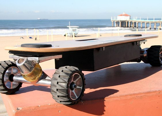 ZBoard - The Weight-Sensing Electric Skateboard