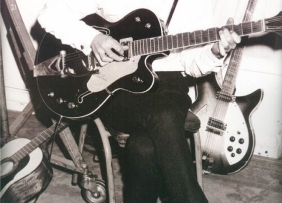 "George and his ""64 Gretsch again"