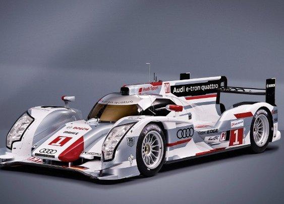 Audi R18 for Le Mans