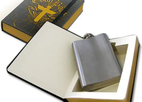 Flask in a Book by Suck UK - oBaz