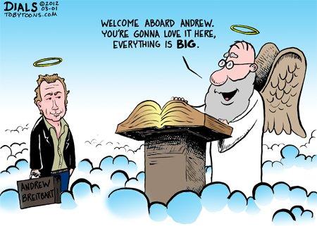 RIP Andrew Breitbart (1969 - 2012)   RedState