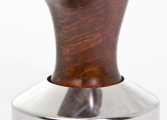 Handcrafted Freehand Torch Briar Espresso Tamper  | Prima Coffee