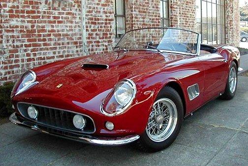 1962 Ferrari 250 California Spyder