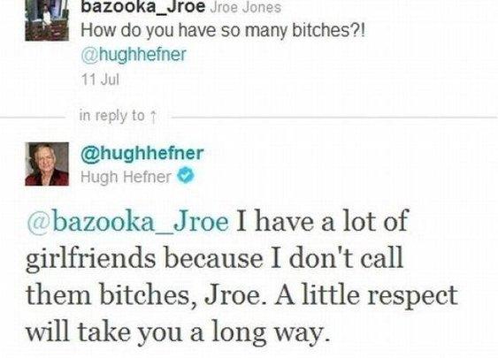 Hugh Hefner's secret