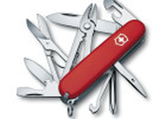 Swiss Army Deluxe Tinker Pocket Knife