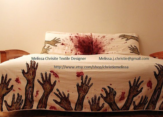 Never Sleep Alone Bed Set