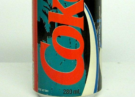 TheDieline.com: Vintage Coke Cans