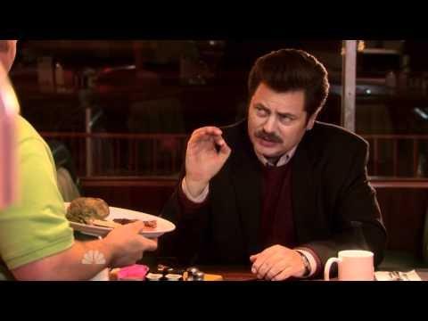 Ron Swanson - Eggs & Bacon