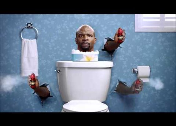 More Old Spice commercials with Terry Crews