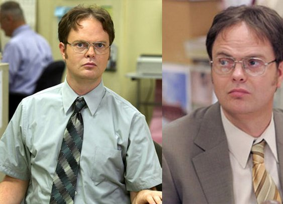 Dwight Schrute -- Friday Sideburns