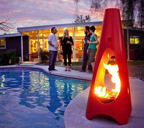 Modfire. The modern outdoor fireplace!