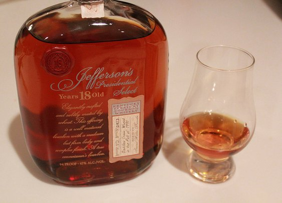 Jefferson's Presidential Select 18 year