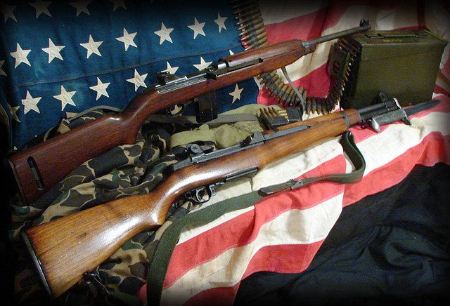 M1 Garand & M1 30 Carbine