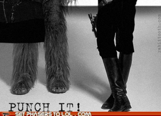 Han Solo and Chewie Awesome!