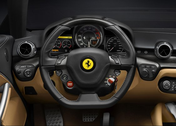 2012 Ferrari F12 Berlinetta - Dashboard