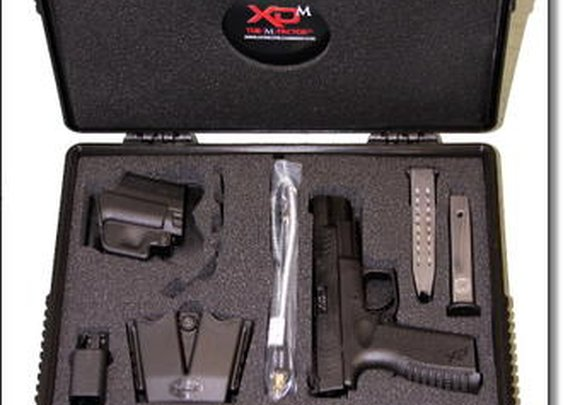 The Springfield Armory  XD(M) 5.25 9mm – Rob Leatham Design for Competition