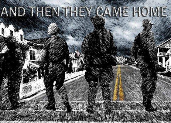 And Then They Came Home by Garrett Anderson and Antonio de la Torre — Kickstarter