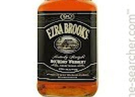 NV Ezra Brooks Black Label Kentucky Straight Bourbon Whiskey, USA