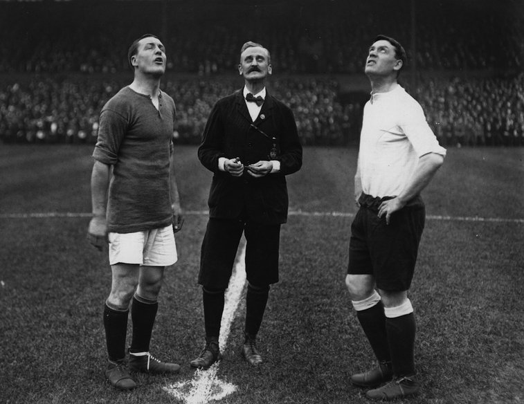The Football Archivist – September 1913: The captains of Chelsea and...