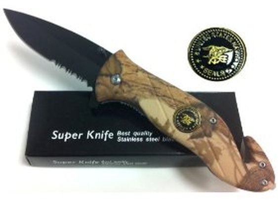 Navy Seals Rescue Pocket Knife and Rescue Tool