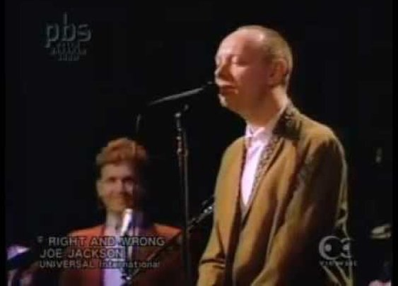 Joe Jackson - Right & Wrong      - YouTube