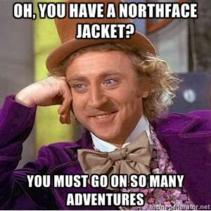 North Face / Willy Wonka