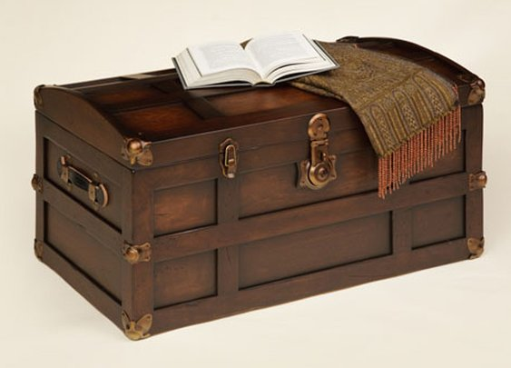 Amish Steamer Trunk