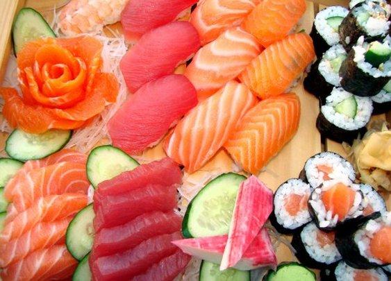 Mmmmmmm Sushi
