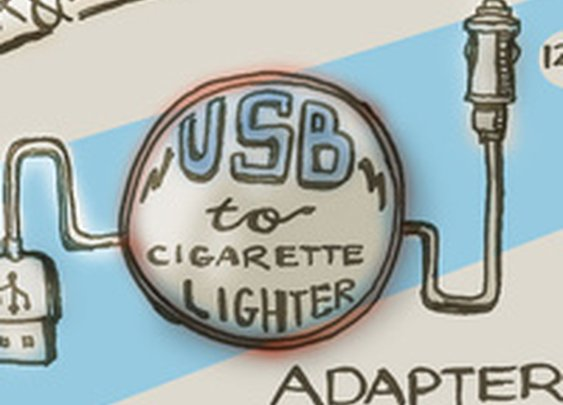 How To Make A Quick And Dirty Emergency USB-To-Cigarette Lighter Socket