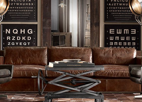 Industrial Scissor Lift Table | Occasional Tables | Restoration Hardware