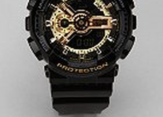 G-Shock Black And Gold GA110 Watch