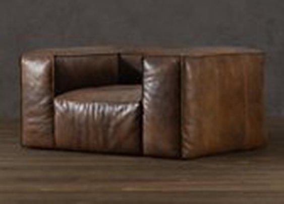 Fulham Leather Chair   Sofas   Restoration Hardware