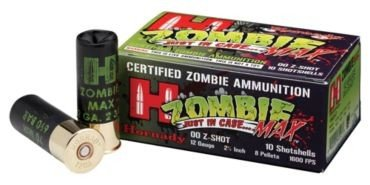 Zombie defense / Don't forget the shotgun shells