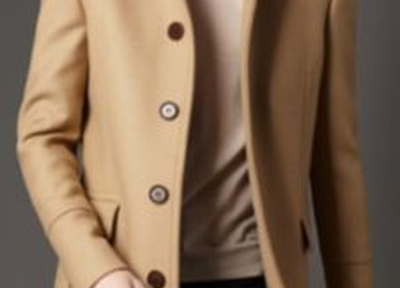 Burberry - WOOL OVERCOAT