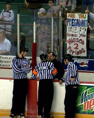 The Temple  » Come on Ref!