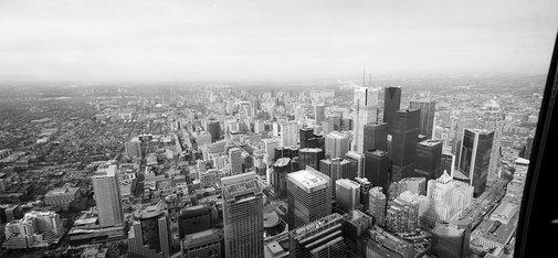 Panorama of Downtown Toronto