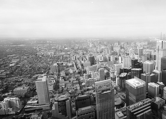 Panorama of Downtown Toronto